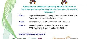 Autism Awareness Resource Event